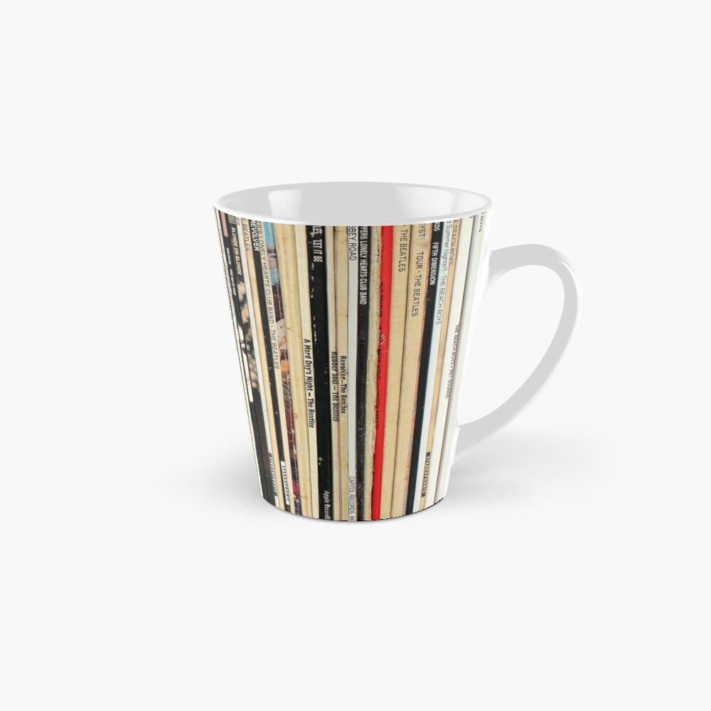 Classic Rock Vinyl Records  Mug