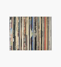 Classic Rock Vinyl Records  Art Board