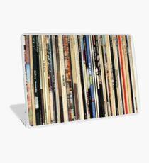 Classic Rock Vinyl Records  Laptop Skin