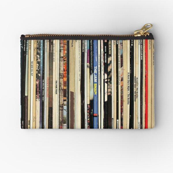 Classic Rock Vinyl Records  Zipper Pouch