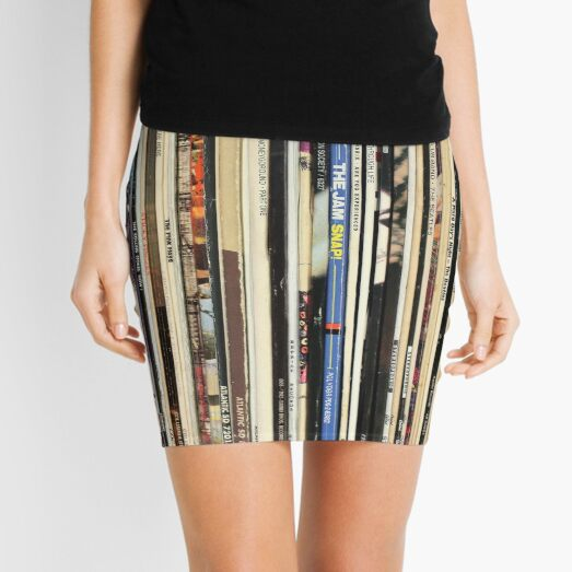 Classic Rock Vinyl Records  Mini Skirt