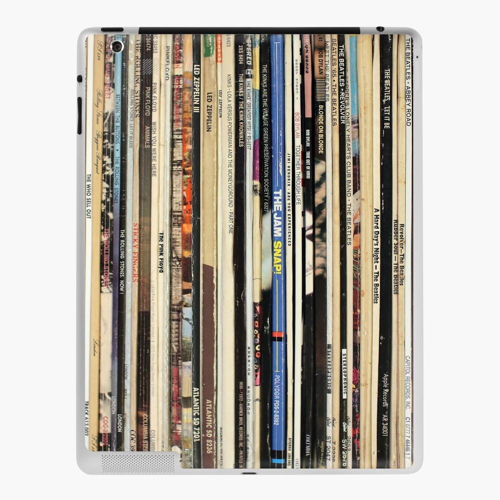 Classic Rock Vinyl Records  iPad Case & Skin