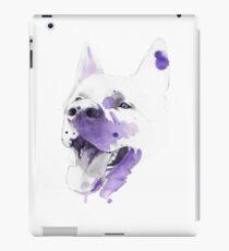 Purple happy dog Vinilo o funda para iPad