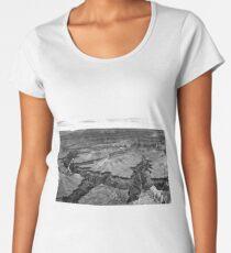 Grand Canyon B&W Women's Premium T-Shirt