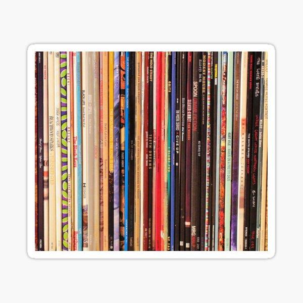 Indie Rock Vinyl Records Sticker