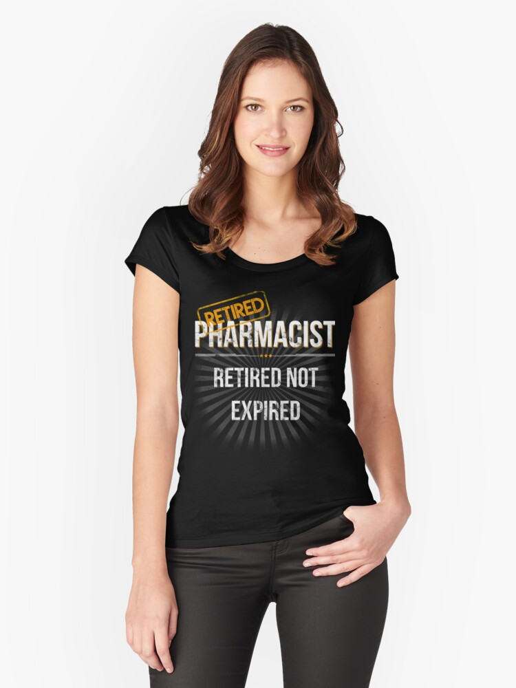 b918a451f Mens Retired Pharmacist Retirement Gift T Shirt for Pharmacists Fitted  Scoop T-Shirt