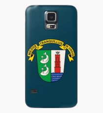 Borkum Coat of Arms, Germany Case/Skin for Samsung Galaxy