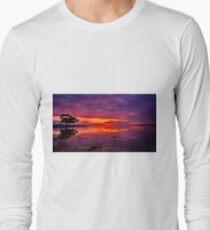 """""""St Helen's Dawning"""" Long Sleeve T-Shirt"""