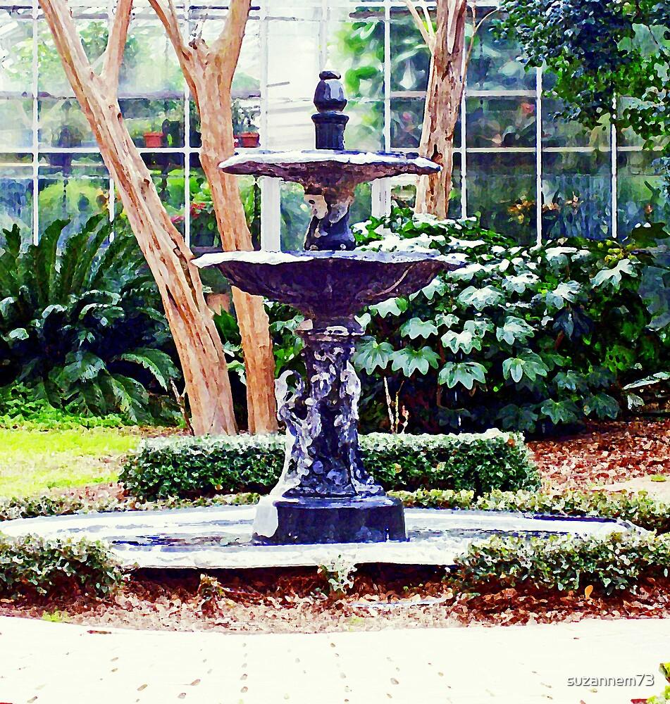 Pretty Fountain by suzannem73