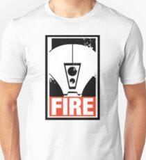 Warhammer 40K Inspired Tau Fire Warrior - FIRE T-Shirt