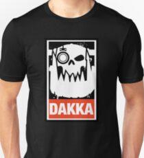 Warhammer 40k Inspired Ork Dakka Dakka Dakka T-Shirt