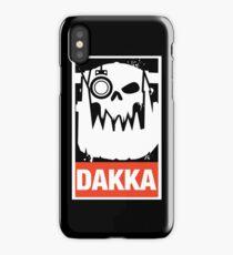 Warhammer 40k Inspired Ork Dakka Dakka Dakka iPhone Case/Skin