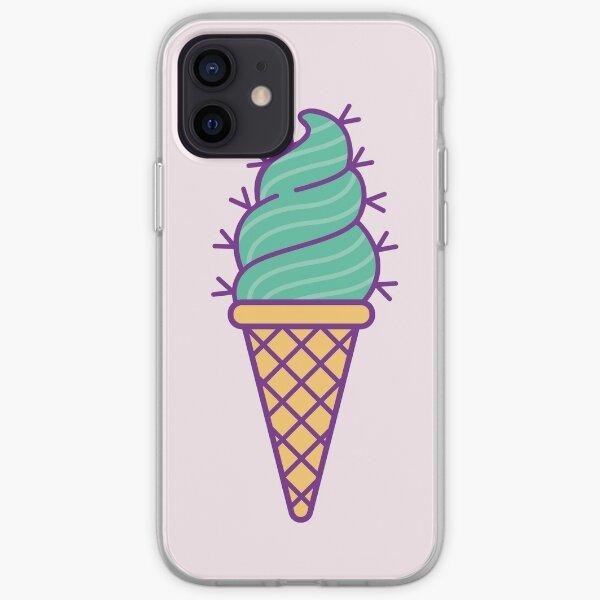 Succulent Ice Cream iPhone Soft Case