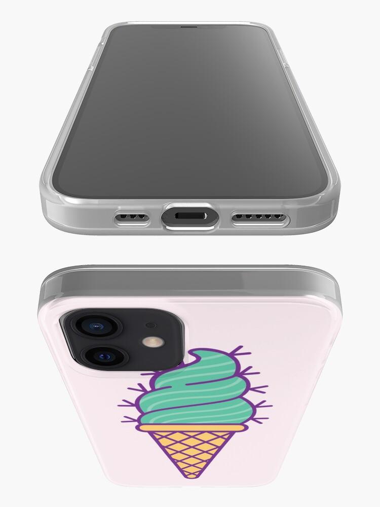 Alternate view of Succulent Ice Cream iPhone Case & Cover