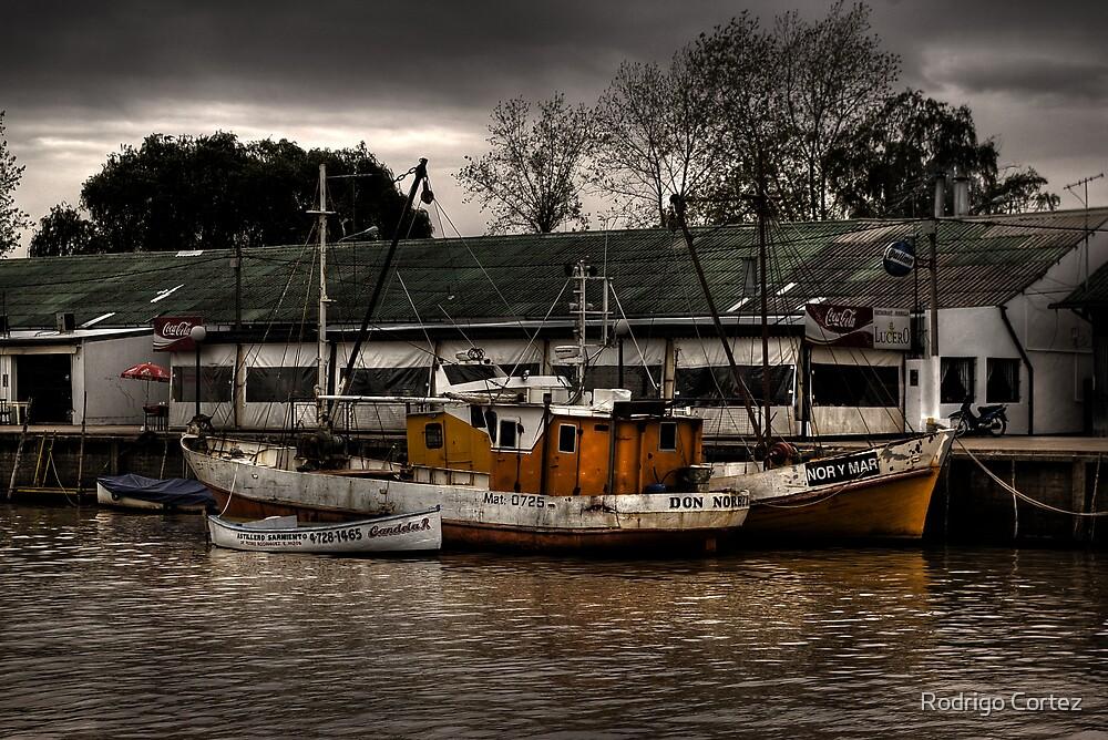 Tormenta en el puerto by Rodrigo Cortez