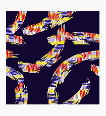 abstract brush Photographic Print