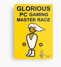 Poster Glorious Pc Gaming Master Race Metal Print