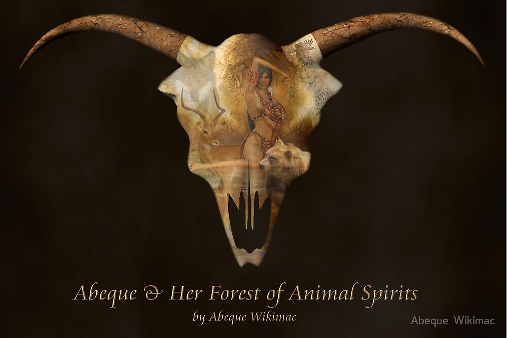 Abeque & Her Forest of Animal Spirits by Abeque  Wikimac