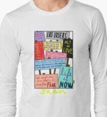 skam quotes  Long Sleeve T-Shirt