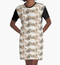 Soft-coated Wheaten Terrier Puppies Graphic T-Shirt Dress