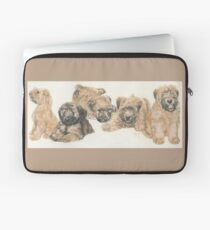 Soft-coated Wheaten Terrier Puppies Laptop Sleeve