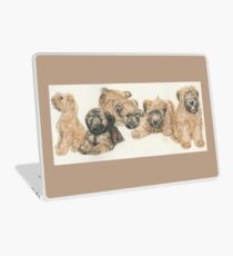 Soft-coated Wheaten Terrier Puppies Laptop Skin
