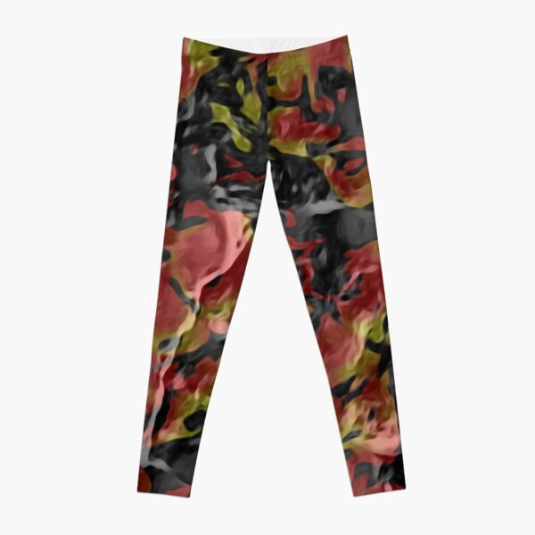 The Cracked Desert  Leggings