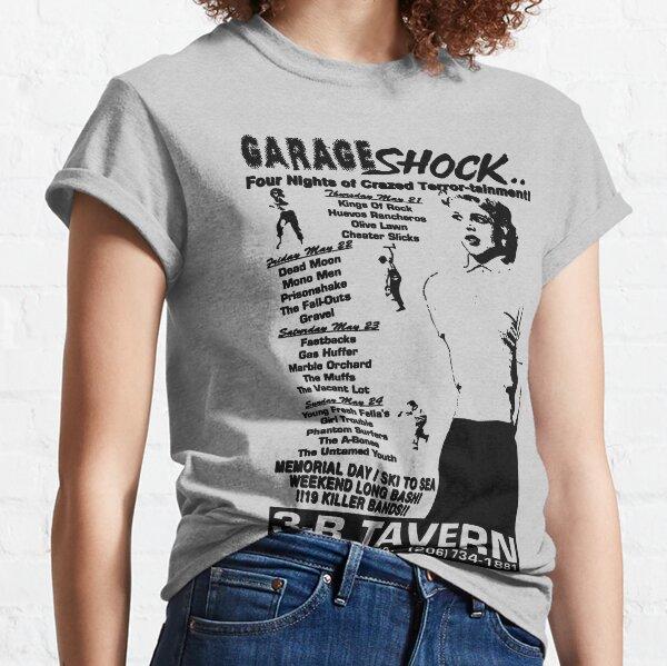 Garage choc t-shirt T-shirt classique