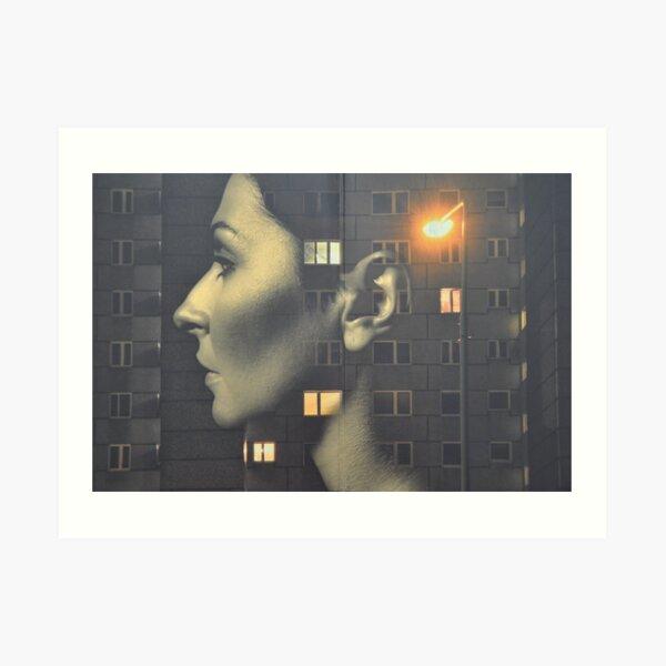 steven wilson - hand cant erase innersleeve art LP fanart1 Art Print