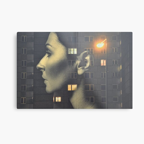 steven wilson - hand cant erase innersleeve art LP fanart1 Metal Print