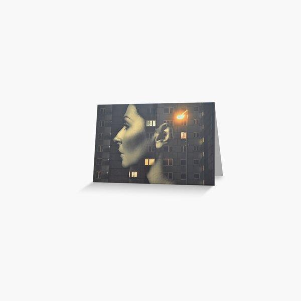 steven wilson - hand cant erase innersleeve art LP fanart1 Greeting Card