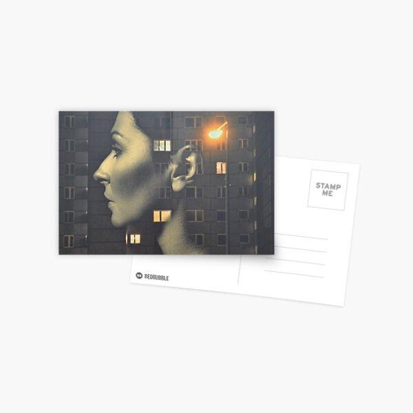 steven wilson - hand cant erase innersleeve art LP fanart1 Postcard