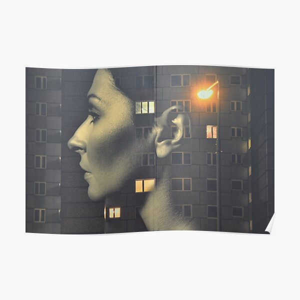 steven wilson - hand cant erase innersleeve art LP fanart1 Poster