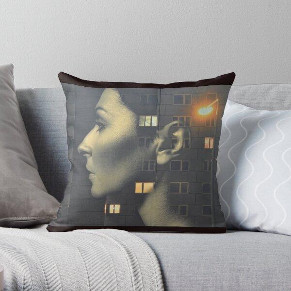 steven wilson - hand cant erase innersleeve art LP fanart1 Throw Pillow