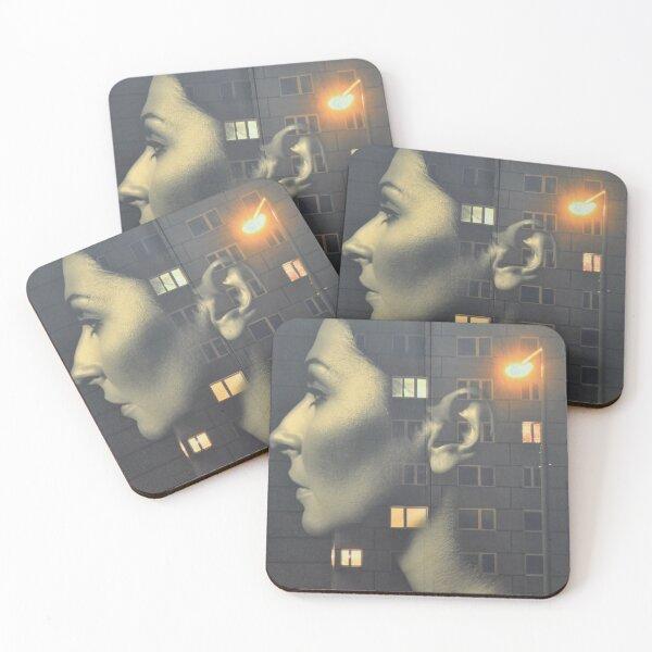 steven wilson - hand cant erase innersleeve art LP fanart1 Coasters (Set of 4)