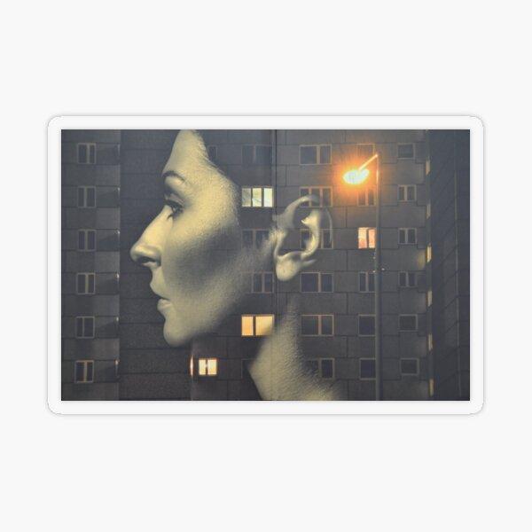 steven wilson - hand cant erase innersleeve art LP fanart1 Transparent Sticker