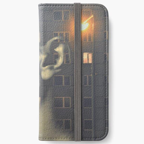 steven wilson - hand cant erase innersleeve art LP fanart1 iPhone Wallet