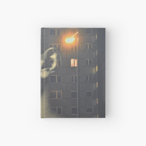 steven wilson - hand cant erase innersleeve art LP fanart1 Hardcover Journal