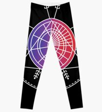 Fibonacci Spiral Golden Ratio Heilige Geometrie Mandala Leggings