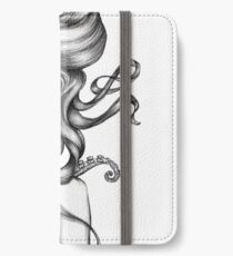 Girl with Octopus iPhone Wallet/Case/Skin
