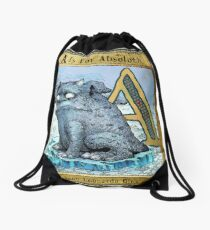 A is for Absoloth. Book cover. Drawstring Bag
