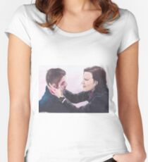 Supernatural Sam and Dean  Women's Fitted Scoop T-Shirt