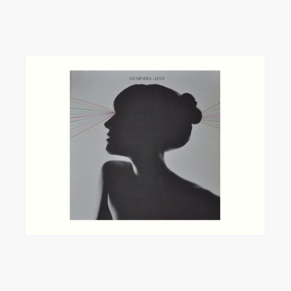 LP Sleeve artwork - Feist - reminder - fanart Art Print