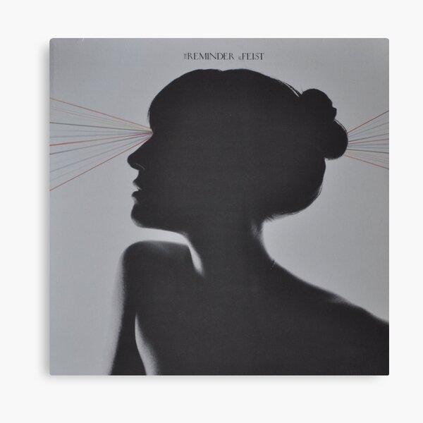 LP Sleeve artwork - Feist - reminder - fanart Canvas Print