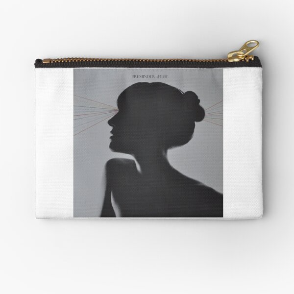 LP Sleeve artwork - Feist - reminder - fanart Zipper Pouch