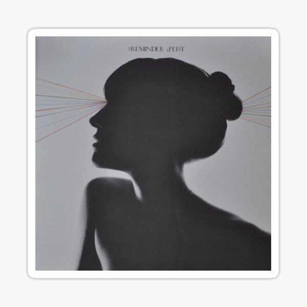 LP Sleeve artwork - Feist - reminder - fanart Glossy Sticker