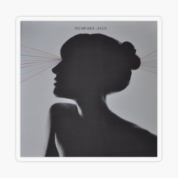 LP Sleeve artwork - Feist - reminder - fanart Transparent Sticker