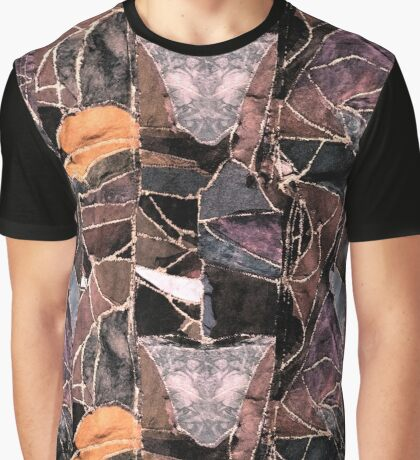 leather patches Graphic T-Shirt