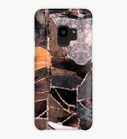 leather patches Case/Skin for Samsung Galaxy