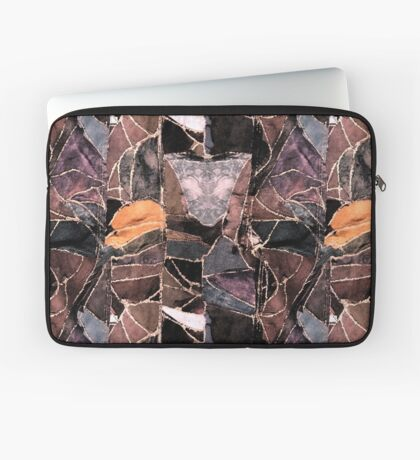 leather patches Laptop Sleeve
